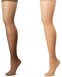 976592d950c Hanes - Silk Reflections Plus-size Control Top Enhanced Toe Pantyhose - Lyst