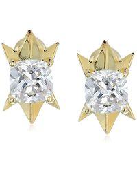 Noir Jewelry - Denebola Stud Earrings - Lyst