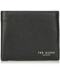 Ted Baker - Zuper Wallet, Black, O/s - Lyst