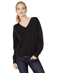 Daily Ritual - 100% Cotton V-neck Sweater - Lyst