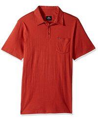 Rip Curl - Links Polo Shirt - Lyst