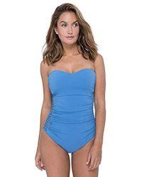 Gottex - Crochet Inset One-piece Swimsuit - Lyst