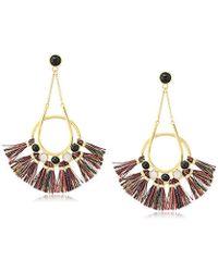 Rebecca Minkoff - Utopia Tassel Chandeliers Drop Earrings - Lyst