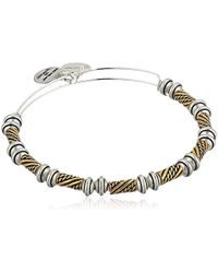 ALEX AND ANI - S Quill Bangle - Lyst