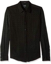 Guess - Long Sleeve Rock It Check Shirt - Lyst
