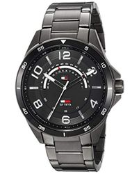 Tommy Hilfiger - Sport' Quartz Stainless-steel-plated Casual Watch, Color:grey (model: 1791393) - Lyst