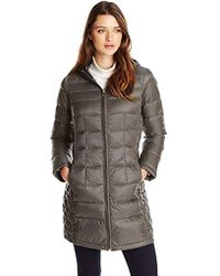 London Fog - Packable Down Jacket With Hood - Lyst