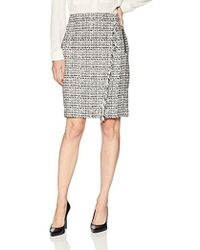 2016c9c716 Women's Calvin Klein Knee-length skirts On Sale - Lyst