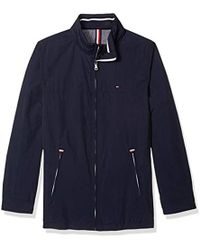 Tommy Hilfiger - Stand Collar Lightweight Yachting Jacket - Lyst