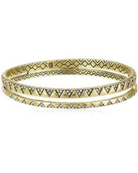 "House of Harlow 1960 - Outland Split Bangle Bracelet, 3"" - Lyst"