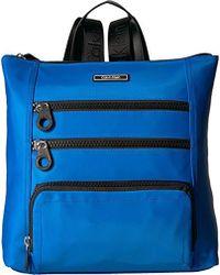 Calvin Klein - Athliesure Nylon Square Multi Zip Backpack - Lyst