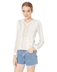 74c1ce37b372c6 O'neill Sportswear - Heated Stipe Pullover Sweater - Lyst
