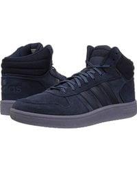 huge discount 41ecb 5a9ef adidas - Hoops 2.0 Mid Sneaker - Lyst