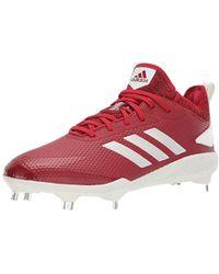 397bec4ad7e3 adidas Adizero Afterburner 4 Baseball Shoe in White for Men - Lyst