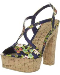 Chinese Laundry - Party Time Platform Sandal - Lyst