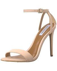 c7a82279cda0 Lyst - ALDO Elvia Open Toe Sandal in Metallic