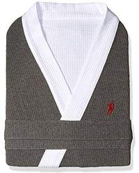 Jockey - Waffle-weave Kimono Robe - Lyst