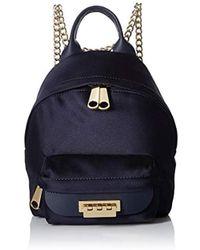 31c2723752 Zac Zac Posen - Eartha Iconic Micro Chain Backpack Navy - Lyst