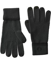 Fred Perry - Adult's Twin Tipped Merino Wool Gloves, Slate Large - Lyst
