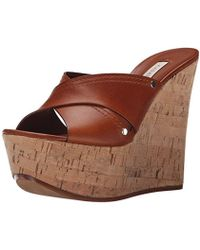 Casadei - 1l560d080 Wedge Sandal - Lyst