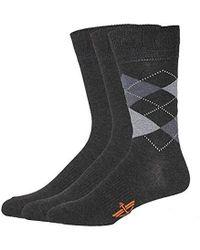 Dockers - 3-pack Classics Crew Socks, - Lyst