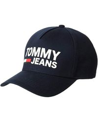 5ec77264 Tommy Hilfiger Jeans Logo Cap - Online Exclusive in Blue for Men - Lyst