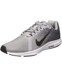 Nike Downshifter 8 Running Shoe, Wolf Metallic Dark Cool Gray, 8 Regular Us