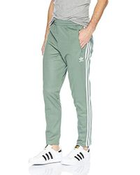 3681e4745 adidas Originals Yellow Beckenbauer Track Pant in Yellow for Men - Lyst