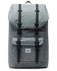 Lyst - Herschel Supply Co. Little America Backpack Grey in Gray for Men 81c7870db3885