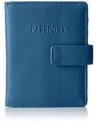 Kenneth Cole Reaction - Core Deluxe Passport Wallet With Rfid Blocking Wallet - Lyst