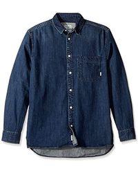 Quiksilver - Denim Jean Sula Shirt - Lyst