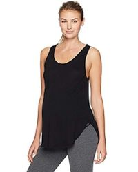 1874fd2fd703d Koral Muscle Tank in Brown - Lyst