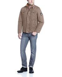 Buffalo David Bitton - Buffalo Zip-front Jacket With Inside Collar - Lyst