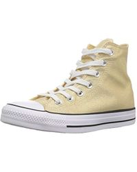 9e4e96f38fed Lyst - Converse Chuck 70 Leather And Tapestry High Top Women s Shoe