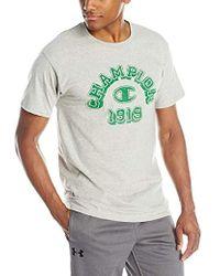 Champion - Graphic Jersey T-shirt - Lyst