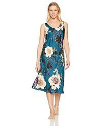 N Natori - Floral Dynasty Gown - Lyst