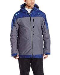 Quiksilver - Snow Tension 17 Jacket, - Lyst
