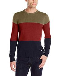 Dickies - Dakota Three-tier Color-block Sweater - Lyst