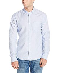 DL1961 - Bowery & Bleeker Modern Slim Talilored Fit Button Down Shirt, White - Lyst