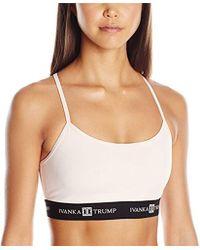 151b77978ac Ivanka Trump - Bra Top With Criss Cross Back Detail - Lyst