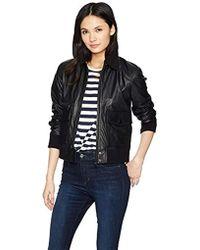 Joe's Jeans - Billie Leather Jacket - Lyst