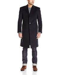 Tommy Hilfiger - Bolton Single Breasted Coat - Lyst