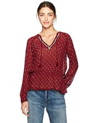 PAIGE - Truly Blouse - Lyst