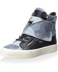 Giuseppe Zanotti - High-top Sneaker - Lyst