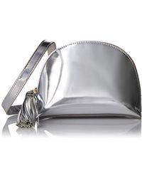 Loeffler Randall - Crossbody Pouch (mirror Leather/tassel) - Lyst