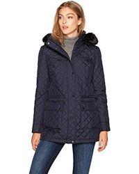 Calvin Klein - Quilted Zipper Jacket - Lyst