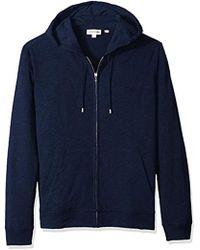 Lacoste - Long Sleeve Athleisure Full Zip Hoodie Sweatshirt, Sh3305 - Lyst