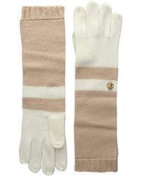 Anne Klein - Ak Colorblock Long Glove - Lyst