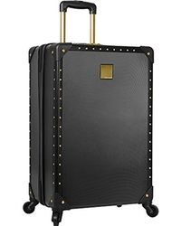 """Vince Camuto - 28"""" Hardside Expandable Spinner Luggage Black/gold - Lyst"""