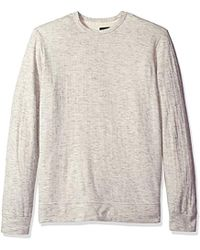 545f0c0b Velvet By Graham & Spencer - Shepherd Double Fold Crew Neck Sweatshirt -  Lyst